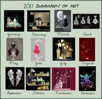Summary of art 2011 by rockgem