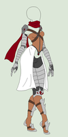 Outfit Adopt - Desert Warrior - SOLD by ShadowInkAdopts