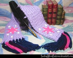 Twilight Sparkle Scarf 1 by SmilingMoonCreations