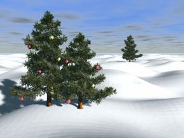 Christmas background by nellstock