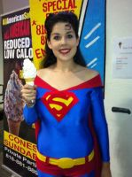 Superma'am loves Fro Yo by miss-kitty-j