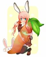 Plush Carrot by Azaleee