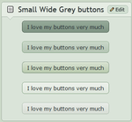 Small wide Grey buttons by CypherVisor