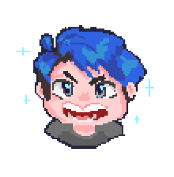 Lil' pixel Ethan! by chirimoyu