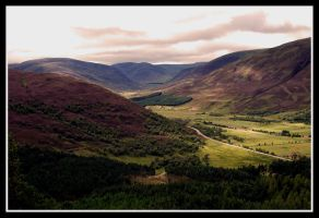 The Road out of Braemar by travellerwolf