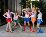 The Sailor Scouts by CheesyHipster