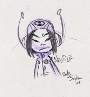 Gorillaz: Noodle by dustindemon