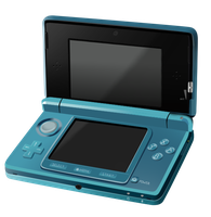 Nintendo 3DS by kyuttlefish