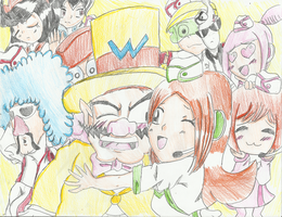 The Wario Crew in Snapped by megadaisy1
