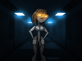 Courtney as EDI by VaultMan