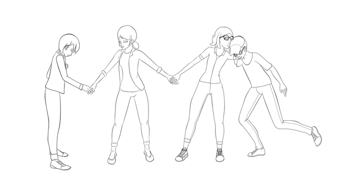 Miraculous Ladybug OT5 WIP by Speckledtail