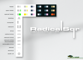 RadicalSqr System Icons by Leuchtstoff