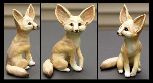 Sculpture: Fennec Fox - Detail by dakazi