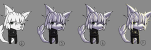 Step by step: Chibi Shaw by Diaminerre