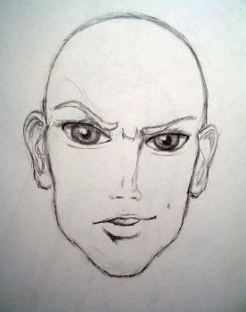 Male face by Elithia