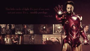 Avengers Wallpaper Set - Tony Stark/Iron Man by Sidhrat