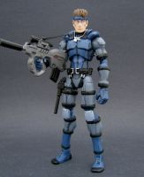 Solid Snake 1 by Jin-Saotome