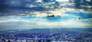 Winter morning in Cluj-Napoca by dgheban