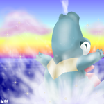 Totodile for Lil Totodile by igtica