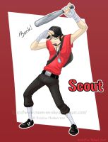 TF2 - Scout by MoonyWings