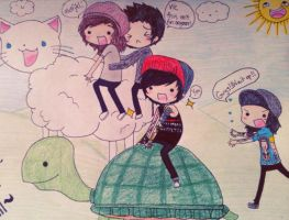 pierce the veil adventure~ by cascadeofstars