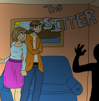 The Sitter Title Card by PhantomAmber