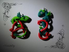 Pendant Commission: We Two by Yuitaz