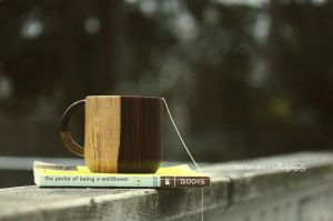 Tea, Books and Rain.. by JONASADDICT2