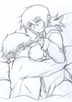 Hans x Seras -Pillows- by Lsayaku