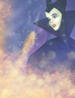 Aurora as Maleficent. by Nikmarvel