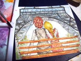 A date in Paris by erethusianelf