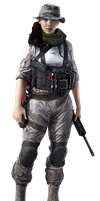 Battlefield 4 - Hanna Render HQ by Crussong