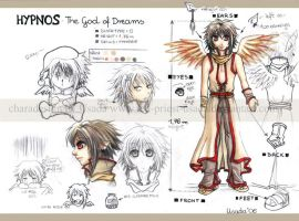 OC Hypnos- chara design by Red-Priest-Usada