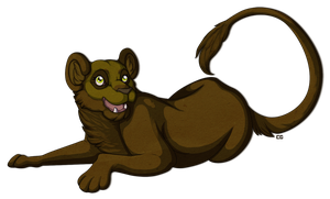 Lioness Commission by Ardengrail