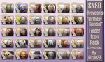 SNSD Hyoyeon's Birthday Special Folder Icon Pack by Rizzie23
