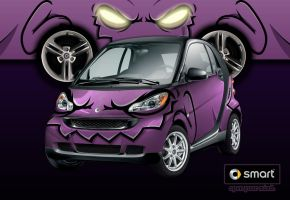 Demon Smart Car by cgianelloni