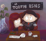 [Commission] Tooth Bsns by Zorua1