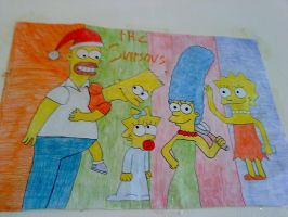 The Simpsons by SailorRaybloomDZ