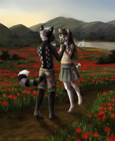 poppy meeting by felix-monster