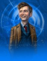 David Tennant Who by jonpinto
