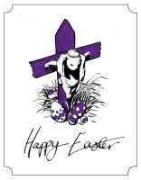Easter card 2012 by TomRFoster