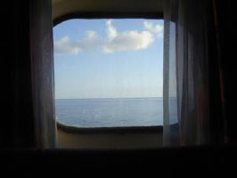 window ocean view by ZoolyOoly