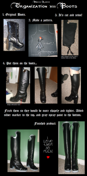 The WIP of the Org. Boots by Amorius