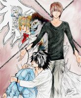 Death Note by 00ELX00