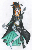Joyful Midna - true form by Luifex