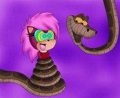Kaa And Sonia The Hedgehog Color by jerrydestrtoyer