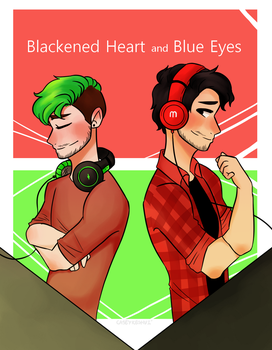 Blackened Heart and Blue Eyes(Collab w/ Kaleigh) by CaseyKeshui