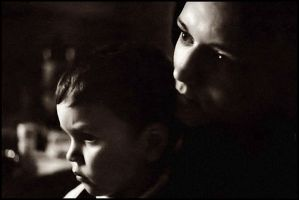 Mother and child, 1996 by snaplife