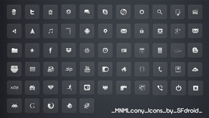 MNMLcony Icons by SF2Gcrew