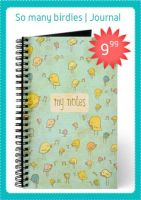 So many birdies journal by arwenita